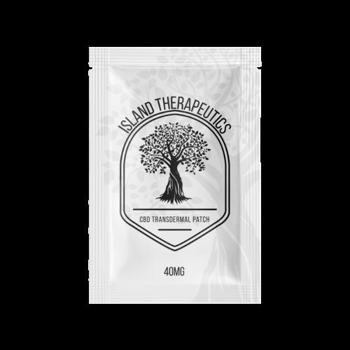 CBD Transdermal Patch 40mg package