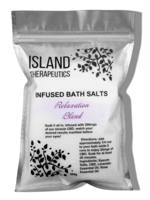 200mg CBD Infused Bath Salts - Relaxation Blend