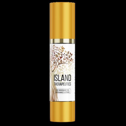 Massage Oil 1 - Island Therapeutics CBD