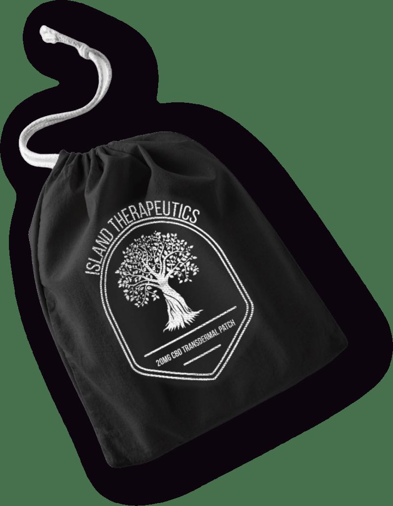 Island Thera Bag Transparent - Island Therapeutics CBD